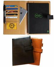 Thegreen Hard Leather Cover For The Rocketbook Everlast Executive Sizeblackd