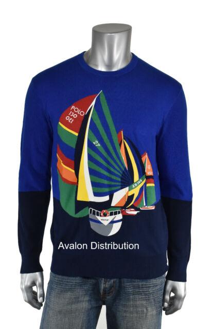 Sail Racing cotton Sweatshirt sweater boat marine sailing Size Men M