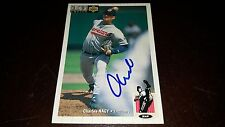 CHARLES NAGY SIGNED 1994 UPPER DECK COLLECTOR'S CHOICE CARD AUTOGRAPHED