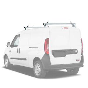 Ram Promaster City 2015 On Aluminum 2 Cross Bars Cargo Van