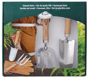 Esschert Design Ensemble de Jardin Pelle pour Fleurs Handgabel