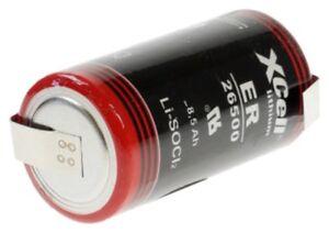 Heimwerker SchöN Kraftmax Lithium 3,6v Batterie Er26500 C Zelle Z Lötfahne Baby Ls 26500 Ls26500