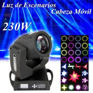 230W-LCD-Luz-de-Escenarios-iluminacion-Auto-DMX512-7R-16CH-de-DJ-Etapa-Bar