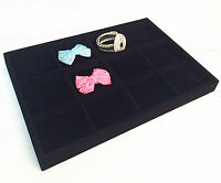 12 Slots Jewellery Shop Bracelet Bangle Display Storage Box Tray Case Organise