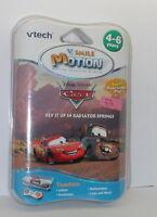 Vtech V.smile Motion Disney Pixar Cars Rev It Up In Radiator Springs