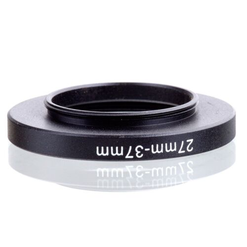 Camera 27mm Lens to 37mm Accessory Step Up Adapter Ring 27mm-37mm