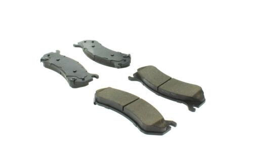 Disc Brake Pad Set-C-TEK Metallic Brake Pads Rear,Front Centric 102.07850