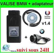 INTERFACE BMW SCANNER V1.4 K+DCAN  K-CAN OBD OBD2 OBDII- VALISE ELM DIAGNOSTIQUE