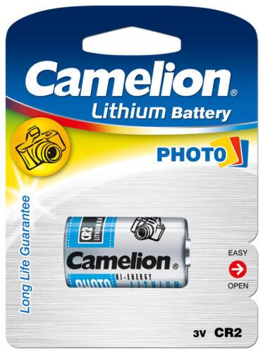 1 pile au lithium CR2 3V pour appareil photo, flash ( CR17355, ELCR2CR2, KCR2 )