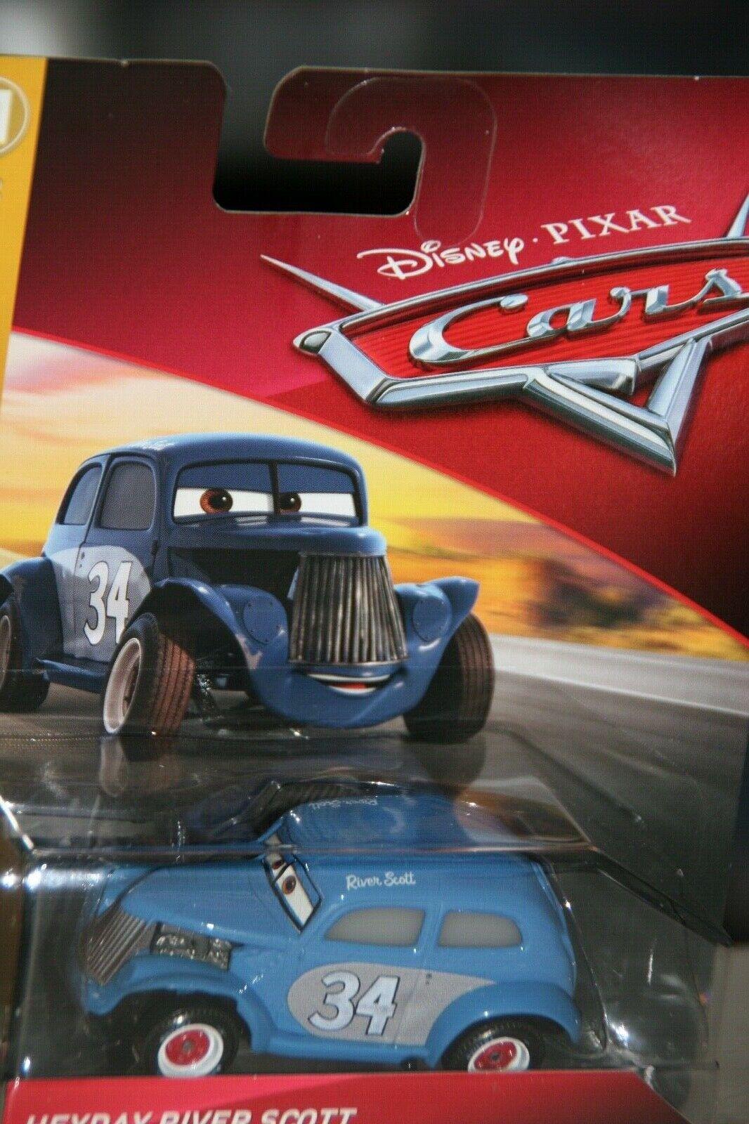 "DISNEY PIXAR CARS 3  /""RIVER SCOTT/"" NEW IN PACKAGE SHIP WORLDWIDE"