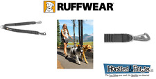 Ruffwear Dog Leash Double Track Coupler Gear Adapter Stretch Strong Secure