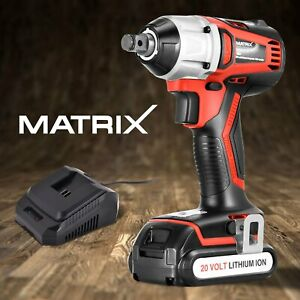 15-OFF-Matrix-20V-Brushless-Cordless-Impact-Wrench-3-8-034-1-5Ah-Li-Ion-Battery