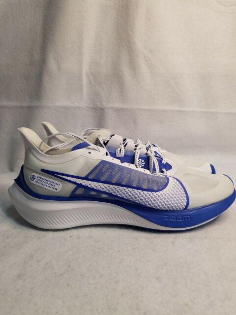 Nike Zoom Gravity Running Shoes Men's  10.5 Clear White/Racer Blue BQ3202-100