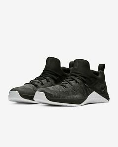 Nike-Metcon-Flyknit-3-Men-039-s-cross-training-shoes-AQ8022-001-Multiple-sizes