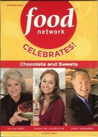 Dvd - Food Network: Celebrates Chocolate And Sweets (dvd, 2009, 3-disc Set)