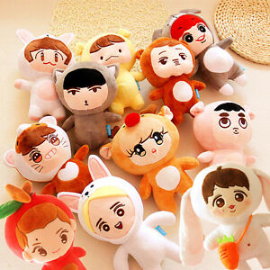 Details about Korea Fashion Kpop EXO Bigbang GOT7 Superstar Cartoon Plush  Toy Stuffed Dolls d13d7093adf4