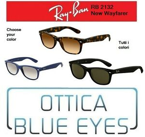 2729c0ec26f Occhiali da Sole RAYBAN New Wayfarer RB 2132 Ray Ban NEW Sunglasses ...