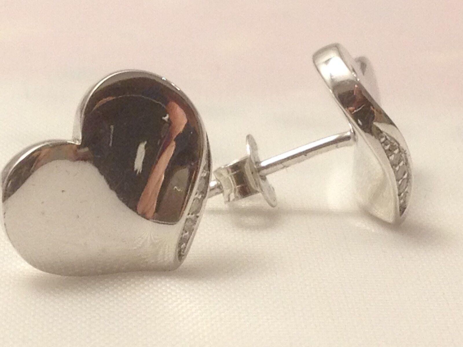 Hot Diamonds Heart earrings DE341 rrp