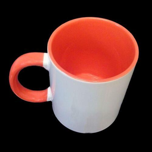 1,39€//1Stk HENKEL ORANGE gün Sublimation 36 Stück Kaffee Tassen Becher WEISS
