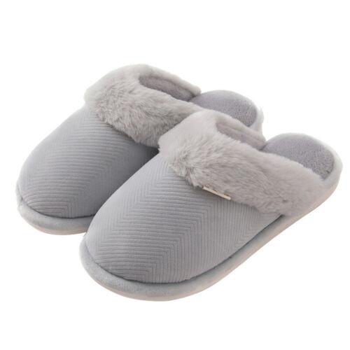 Braun Gr.36-45 Damen Hausschuhe Pantoffeln Veloursleder m Lammwolle gefüttert