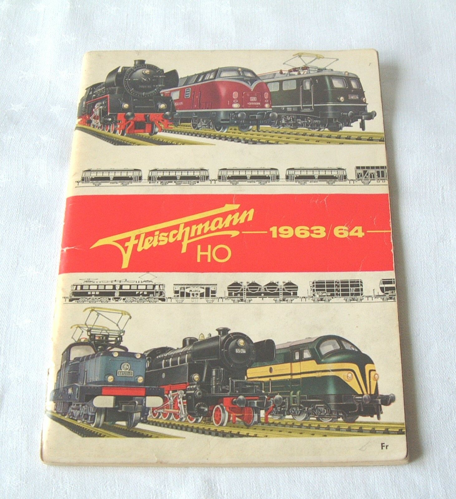 Catalogues trains miniature HO Fleischmann