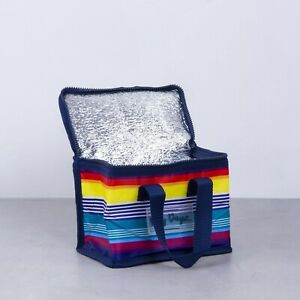 Lunch-Cooler-Bag-RAINBOW-Tote-Easy-Carry-Picnic-Food-Storage-Thermal-Folded-AU