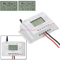 LCD 10/20A 12/24V MPPT Solar Panel Battery Regulator Three-time Controller #6
