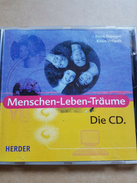 CD Menschen-Leben-Träume Frank Reintgen, Klaus Veilguth