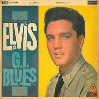 ELVIS PRESLEY G.I. Blues Vinyl Record LP RCA RD.27192 1960 Mono 1st Pressing