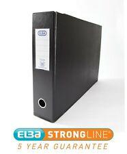 5 Star Mini Lever Arch File 70mm Spine Oblong Landscape A3 Black Pack of 2