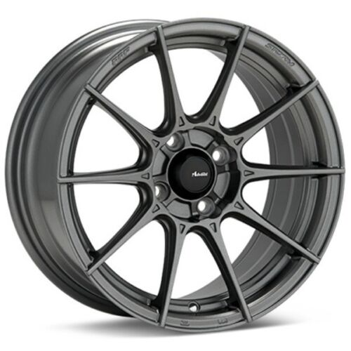 1 Rim 15x9 Advanti Racing Storm S1 4x100 35 Matte Grey Wheel