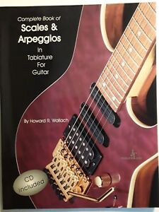 """balance & Arpèges En Tablature Pour Guitare"" Par Howard R. Wallach, Avec Cd-afficher Le Titre D'origine"