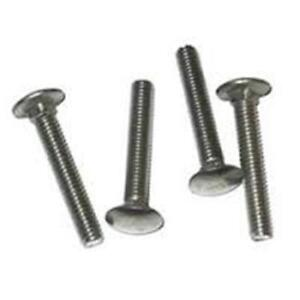"""25 1//2/"""" 13 x 6/"""" 304 Stainless Steel Carriage Bolts"""