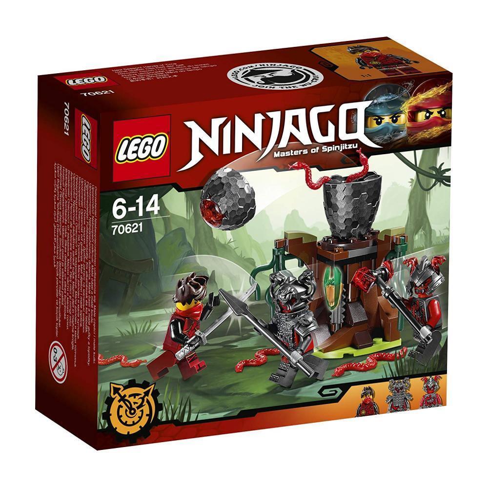 LEGO Ninjago 70621 Vermillion Falle Kinderspielzeug für Junegen ab 6 Jahren NEU
