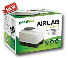 PONDPRO AIRLAB EV80 AIRPUMP 85L WEATHERPROOF FISH POND AIR PUMP OUTDOOR HI BLOW