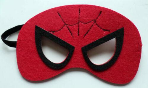 Superhero Childrens Masks Batman Superman Spiderman Batgirl fancy dress lot