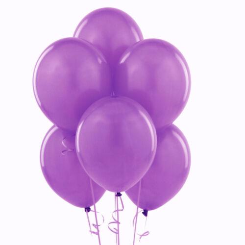 100 LARGE PLAIN BALONS BALLONS helium BALLOONS Quality Birthday Wedding BALOONS