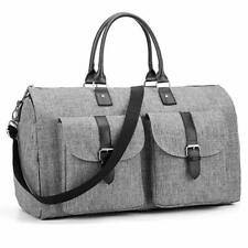 2 in 1 Convertible Garment Bag Carry On Suit Bag Luggage Duffel for Women Men