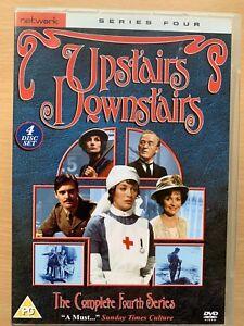 Upstairs-en-Bas-Complet-Quatrieme-Saison-Saison-UK-4-Disque-DVD-Coffret