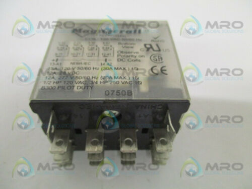 USED * MAGNECRAFT 784XDXM4L RELAY 120VAC
