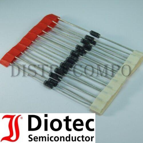EM513 Diode de redressement 1600V 1A RoHS Diotec lot de 20 ou 50