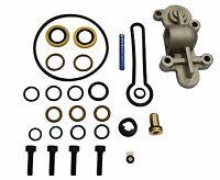 6.0L Ford Powerstroke Diesel Fuel Pressure Regulator Updated Blue Spring BSK3