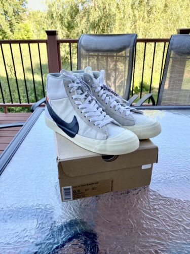 "Nike Off White Blazer ""The Ten"" Size 9.5"
