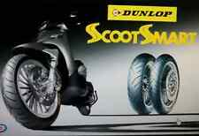 Coppia pneumatici Scooter 110/70/16 + 130/70/16 Dunlop Scootsmart Gomma SH 300