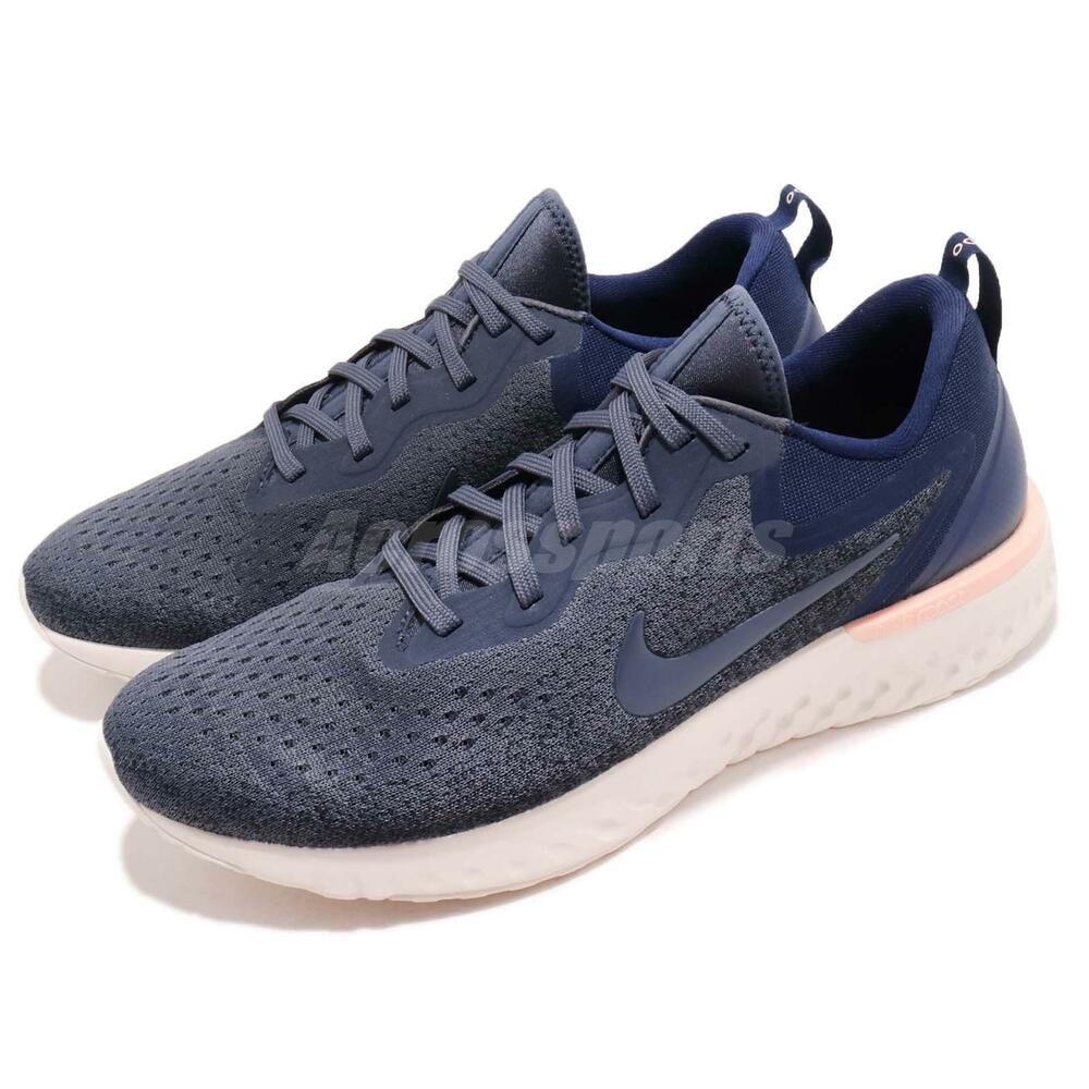 Nike Odyssey React Thunder Bleu Void homme fonctionnement chaussures Sneakers AO9819-403