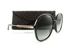 New Gucci Sunglasses GG 3844/S Black Gold 6UB9O Authentic