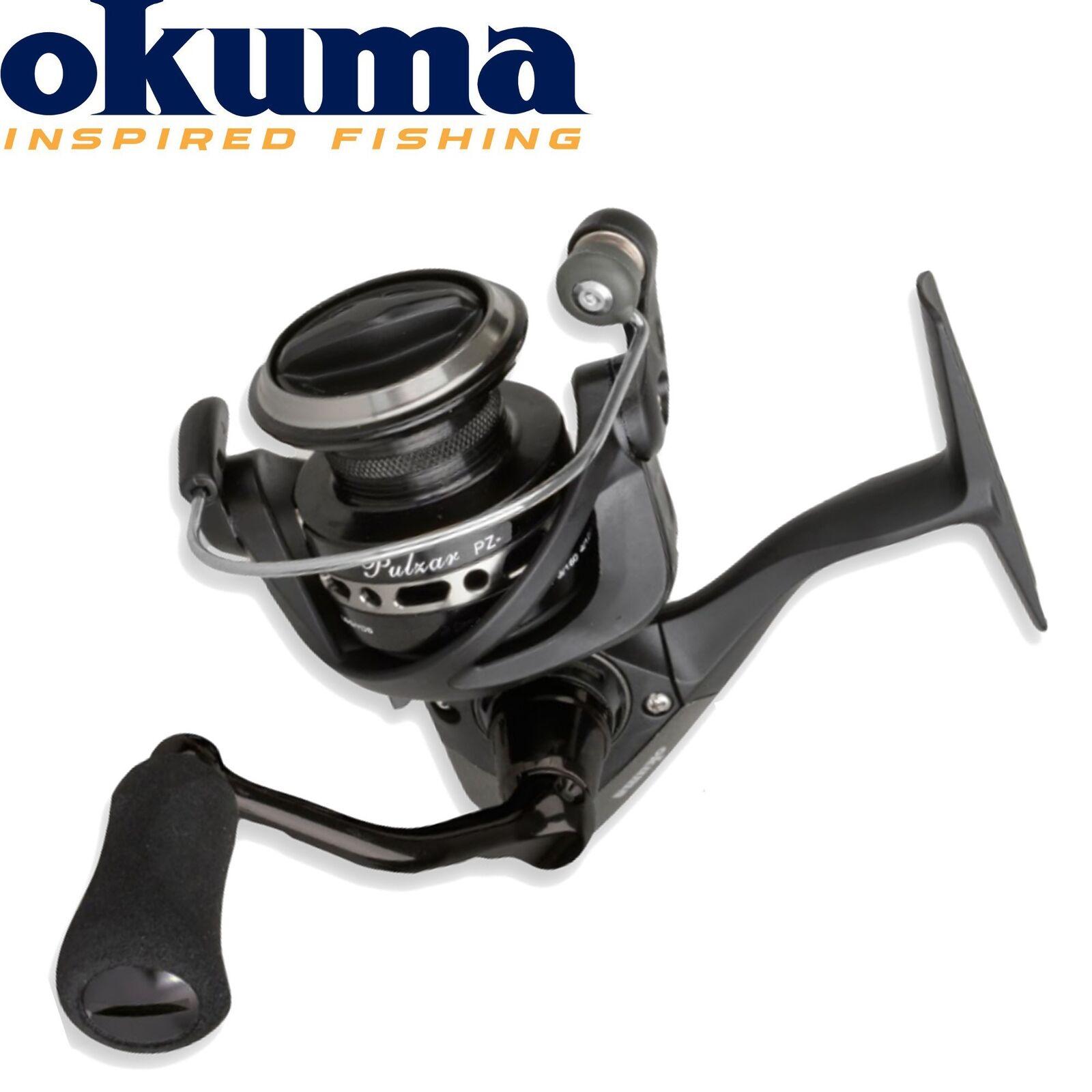 Okuma Pulzar Spinnfischen 40a - Stationärrolle, Hechtrolle, Angelrolle zum Spinnfischen Pulzar 4d031f