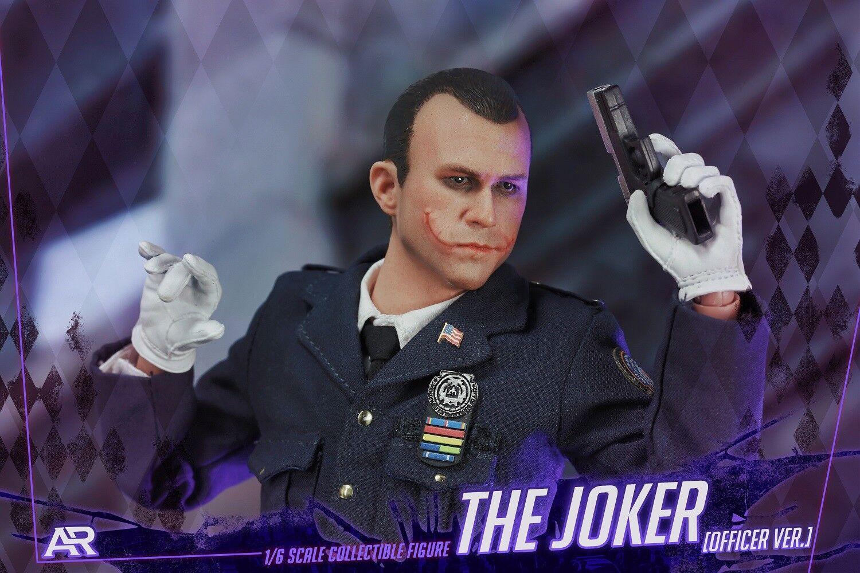 In-Stock ARTOYS AR-003 1 6 Scale  Bad Cop Joker 12IN Action Figure