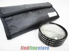 67mm 67 close-up macro +1 +2 +4 +10 close up lens filter kit set for DSLR SLR