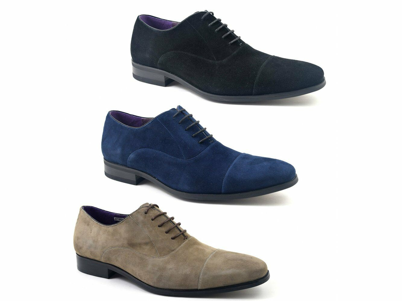 Gucinari Gucinari Gucinari PETRUS   Herren Suede Leder Formal Evening Lace-Up Cap Toe Oxford Schuhes 770bac